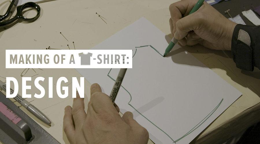 making a shirt design - Parfu kaptanband co