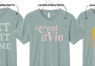 Best T-shirt Color & Ink Combinations for Screen Printing